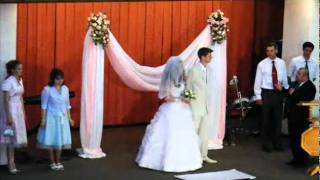 Свадьба в церкви пятидесятников - Минск 03июля2008