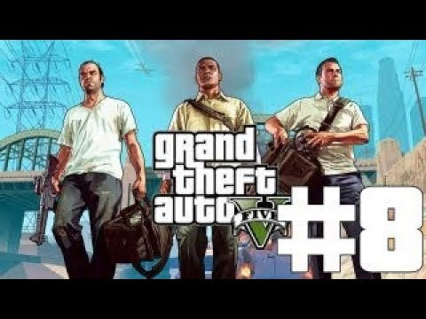 Grand Theft Auto 5 Ep 8 Friend Request Walkthrough No Commentary/No Talking With Subtitles