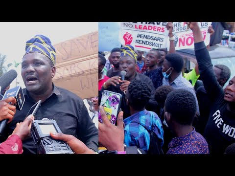 YOMI FABIYI FINALLY CRIED TO FEDERAL GOVT TO HELP THE NIGERIAN YOUTH FOR FUTURE PURPOSE AT #ENDSARS