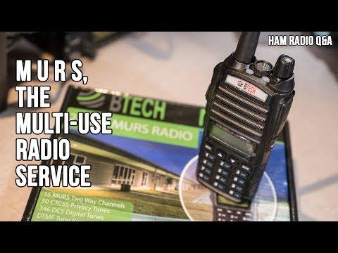 MURS, The Multi Use Radio Service - Ham Radio Q&A