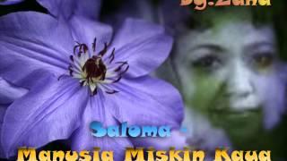 Gambar cover Saloma Manusia Miskin Kaya
