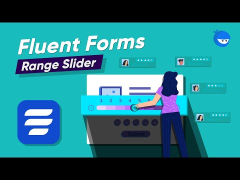 How to add Range Slider field on your Online Form | WP Fluent Forms
