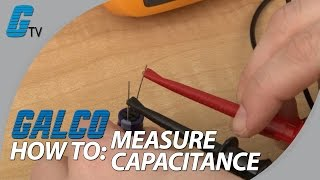 how to check a capacitor and measure capacitance with a digital multimeter