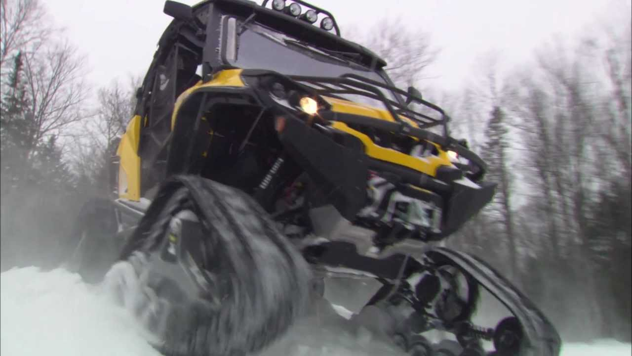 Apache 360 Lt Track System For Ssv And Atv Can Am Models Youtube