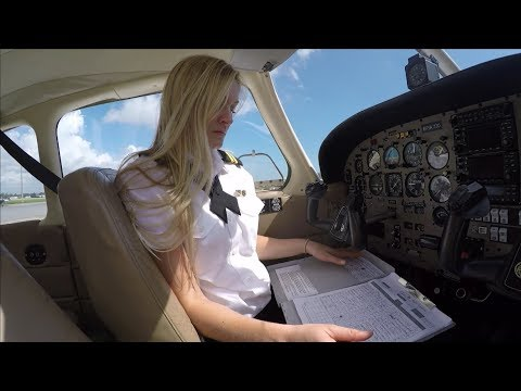Commercial Pilot Maneuvers | Epic Flight Academy | Female Pilot