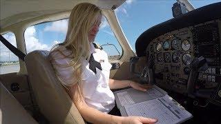 Commercial Pilot Maneuvers   Epic Flight Academy   Female Pilot
