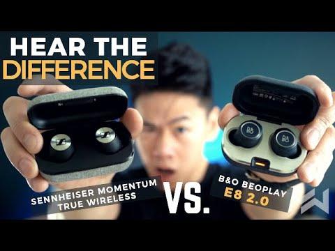 B&O Beoplay E8 2.0 Vs Sennheiser Momentum True Wireless Earbuds Comparison Review: $300 Vs $350!