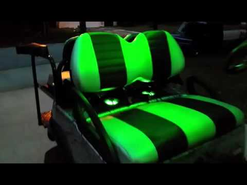 2015 Club Cart Custom LED And Stereo Installation