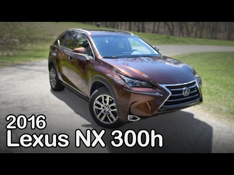 2016 Lexus NX 300h Review: Curbed with Craig Cole