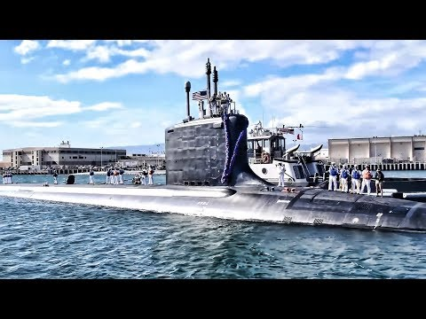 U.S. Fast-Attack Submarine Makes It Home For The Holidays