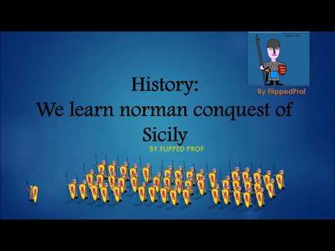 History: we learn norman conquest of Sicily