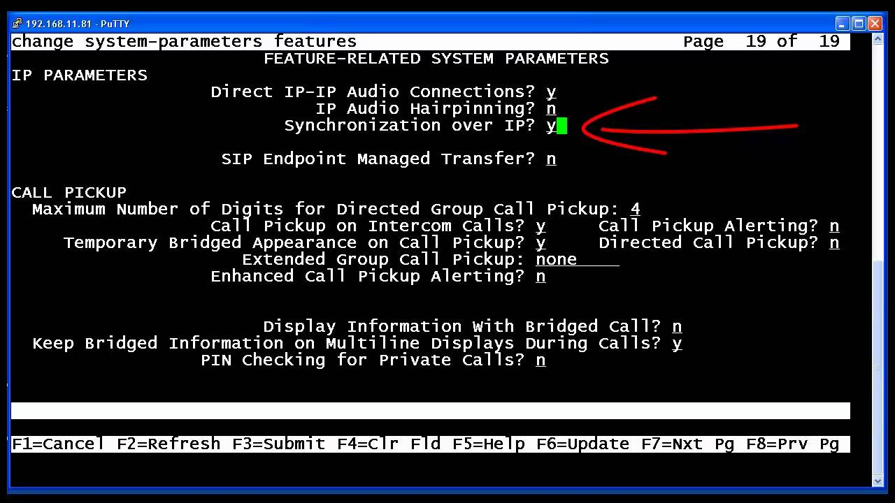 Implementing and verifying Clock Sync over IP (CSoIP) in Avaya  Communication Manager