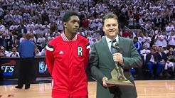 Lou Williams Receives Sixth Man Award - April 21, 2015