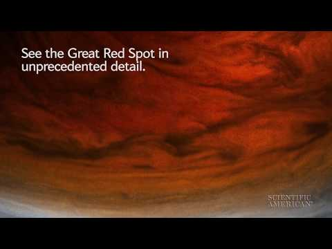 See Jupiter's Great Red Spot Up Close