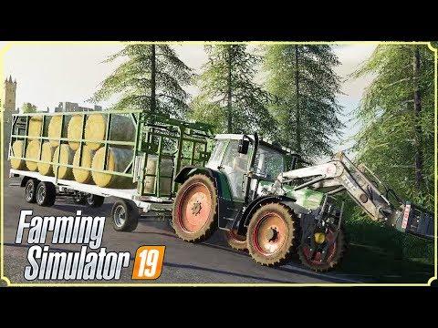 FARMING SIMULATOR 19 #52 - UN CARRELLO PER LE BALLE - GAMEPLAY ITA thumbnail