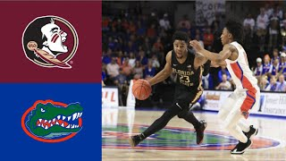 Florida State vs #6 Florida 2019 College Basketball Highlights | 11/10/2019