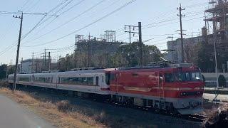 【名鉄1700系東名古屋港へ‥】EL120引率1703F&1704F編成 廃車回送 MHフル