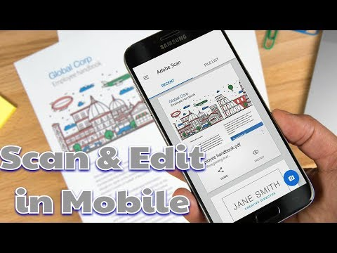 Easily Scan And Edit Your Document In Your Mobile |👍