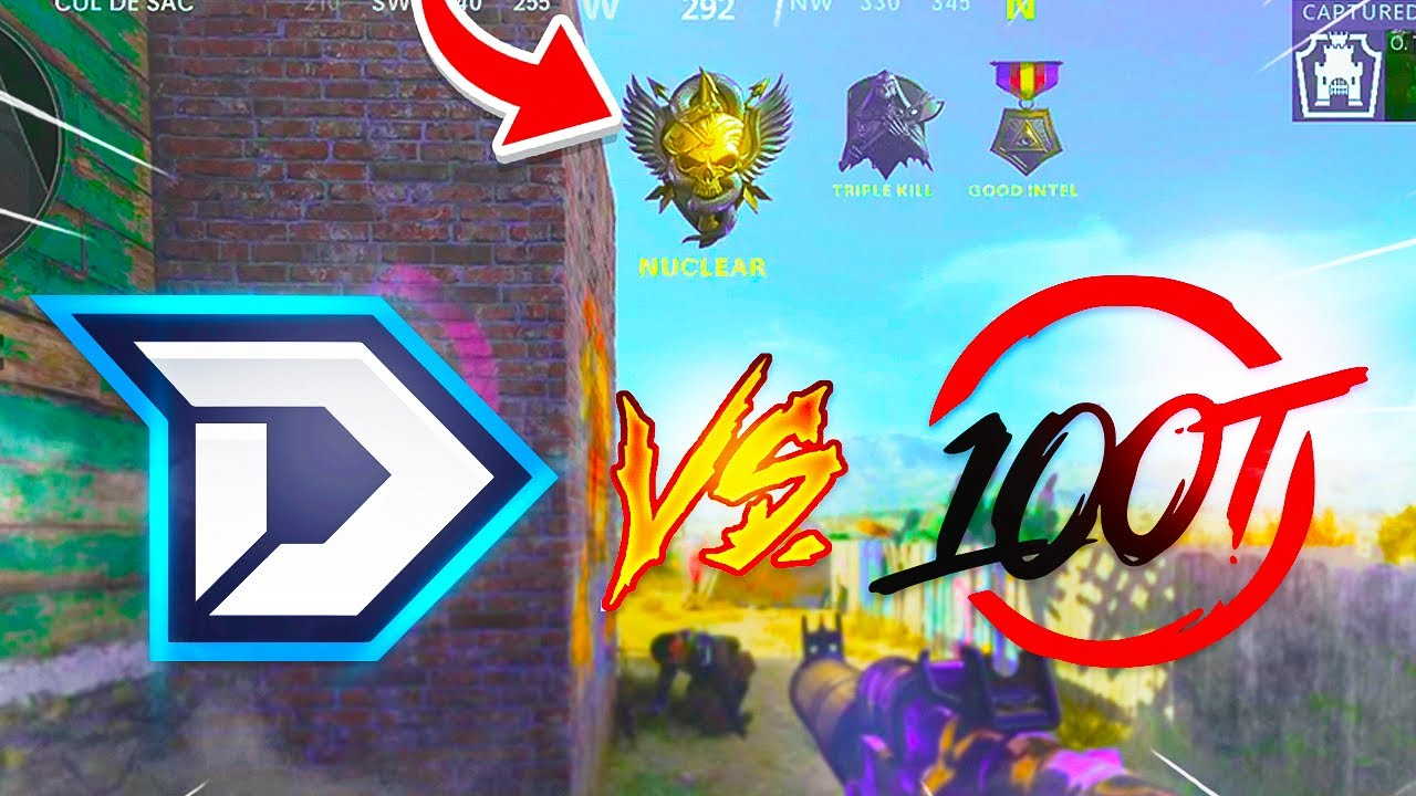 NUCLEAR vs 100 THIEVES PRO PLAYER! (Black Ops Cold War)