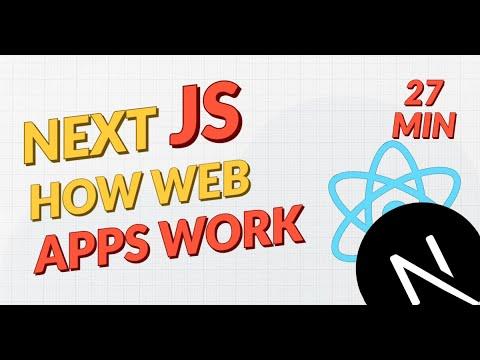 How Web Apps Work - Next JS & React JS
