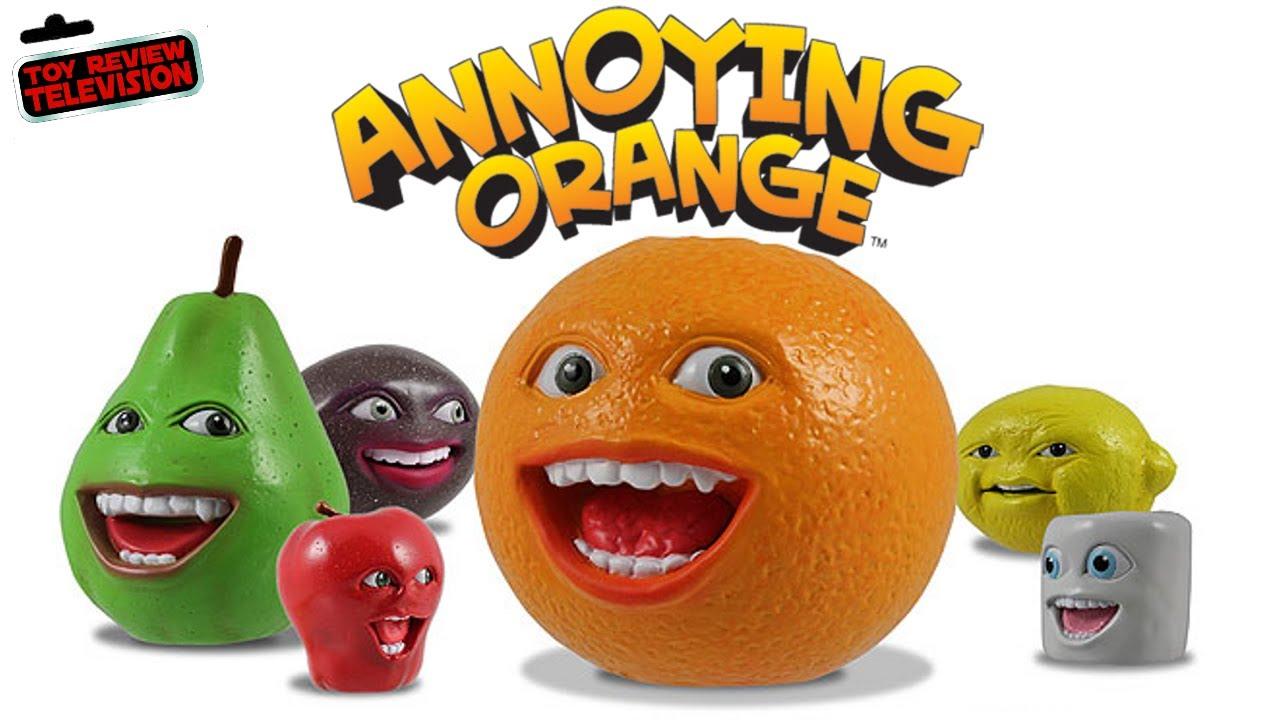 Annoying Orange Talking Toy Review Youtube