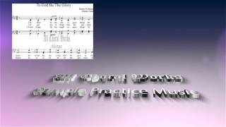 To God Be the Glory Sheet Music Mixed Choir
