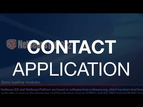 Contact Application - Web Service