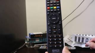 Настройка: Пульт ДУ универсальный HUAYU RM-L1130+8 для телевизоров китайских OEM брендов