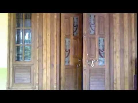 Kerala Model Double Door Styles Youtube
