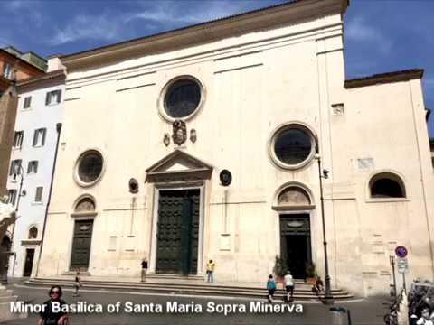Churches of Rome: Santa Maria Sopra Minerva