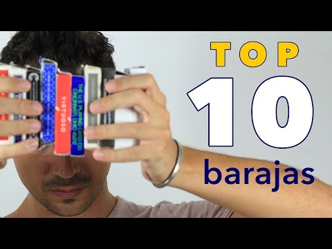 Mi Top 10 de Barajas de Cartas | 2016