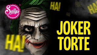 Joker Torte / Halloween Cake / The Movie / Sally Welt