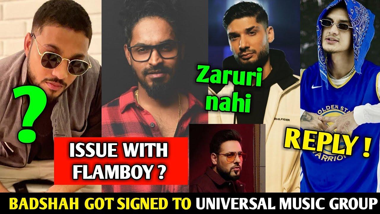Emiway ISSUE with Flam Boy ? Unfollowed each other   Raftaar BIO   Badshah Got signed to UMG   Loka