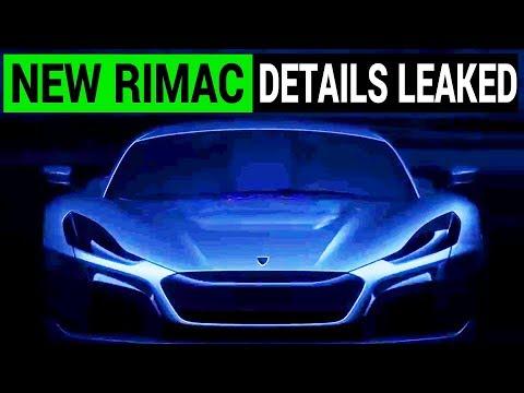 Rimac Concept Two Details Leaked