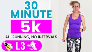 30 Minute 5k | 3.1 Mile INDOOR RUNNING Workout | Learn to RUN with Pahla B