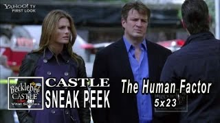 "Castle 5x23  Sneak Peek 4 ""The Human Factor"" Castle Says At Least We Have Each Other  Airs 5/06/13"