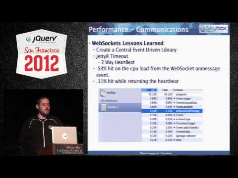 jQuery Conference SF 2012 Flying Satellites from a Browser by James Long