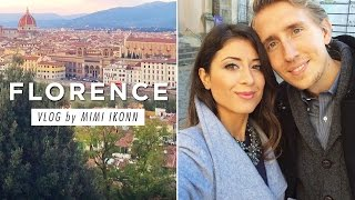 Secret Project + Earthquakes | Florence Vlog Thumbnail