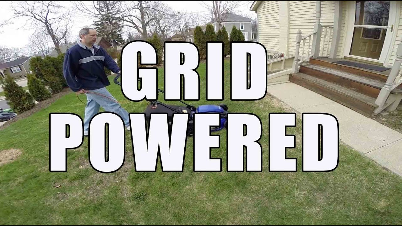 13 Amp 21 Inch Corded Lawn Mower Versi On The Spot