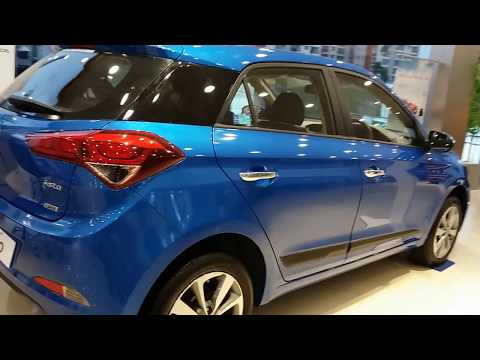All New Hyundai i20  Marine Blue | Top End Model Exterior and Interior | 1080p