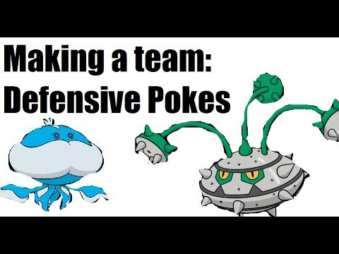 How to make a Pokemon team - Defensive Walls
