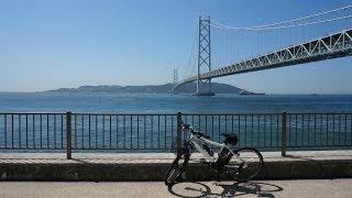 Panasonicの電動アシスト自転車、ハリアでの撮影です。