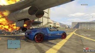 GTA 5 100 Tons Super Car Rampage #2 HD Grand Theft Auto 5