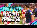 Download FIFA WORLD CUP ALL GOALS RECREATED IN FIFA 18 WORLD CUP MODE !!!!!! ( FIFA 18 WORLD CUP MODE ) !!!!! in Mp3, Mp4 and 3GP