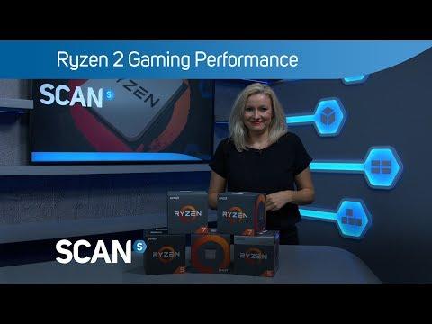 AMD Ryzen 7 2700 Gen2 8 Core AM4 CPU/Processor with LED Wraith Spire Cooler