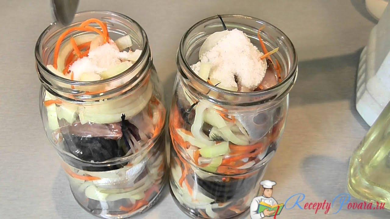 рецепт консервов из скумбрии в домашних условиях