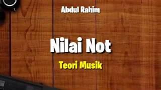 Teori Musik - Nilai Not