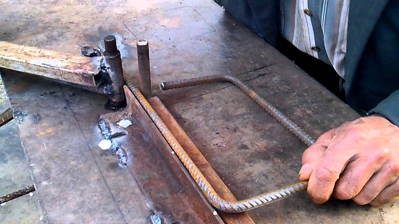 Приспособление для загибания арматуры своими руками фото 213