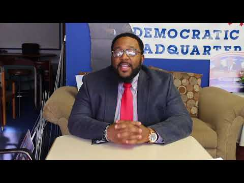 Malcolm Yates, Chair of the Southwest Democrats, Young Dems