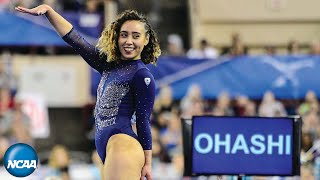 Gambar cover Katelyn Ohashi's sensational floor routine at the 2019 NCAA gymnastics championship
